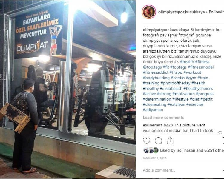 Earth International Foundation Interviews Olimpiyat Spor gym about the Syrian shoe shiner who received lifetime membership to the gym, Humanitarian Blog, Fostering Refugee Livelihood, Empowering Host Community,