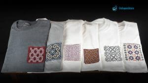 Handmade Hill Tribe Embroidery T-Shirts