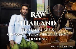 Study Thai Language Cross-Cultural Intelligence RAW Method